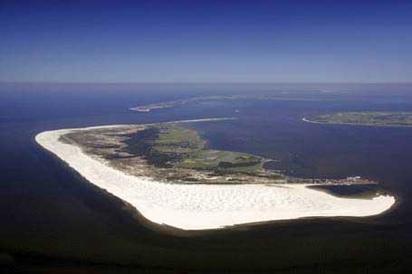 Luftaufnahme von Amrum