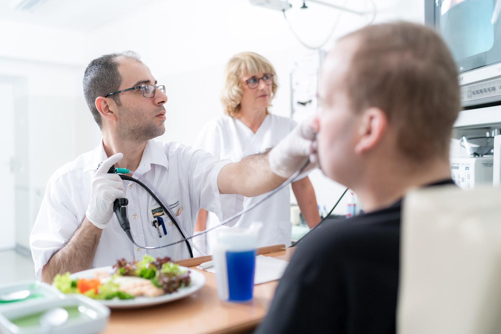 Videoendoskopische Schluckdiagnostik
