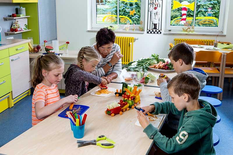 Lehrküche Kinder