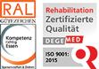 Zertifzierung Sonnenberg-Klinik