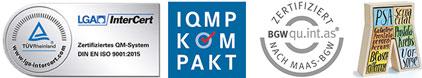 Zertifizierung Klinik Park-Therme