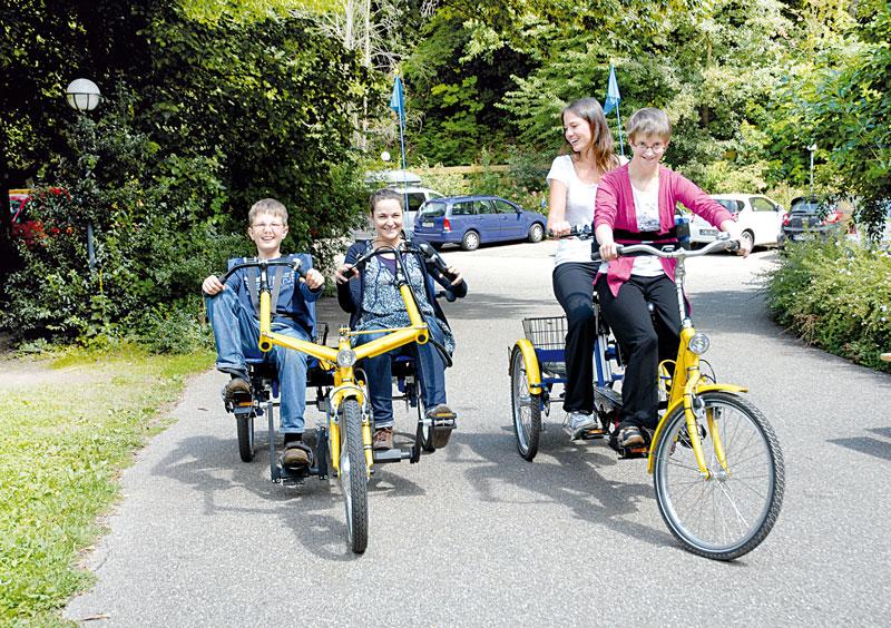 Fahrrad fahren mit Kindern