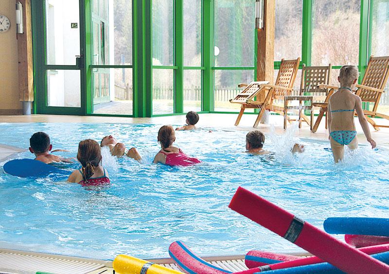 Schwimmtherapie mit Kinder