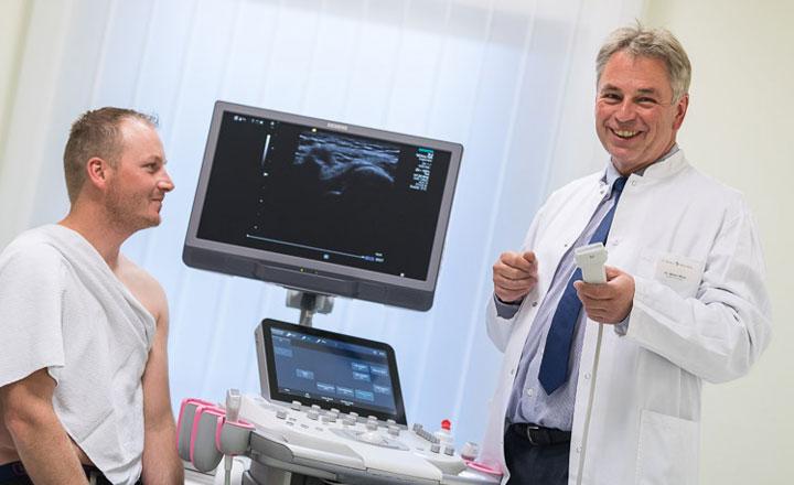 Ultraschall in der Orthopädie