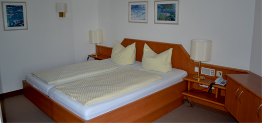 Appartement Elisabethenbad Schlafen