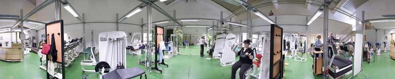 Panorama Medizinische Trainings Therapie