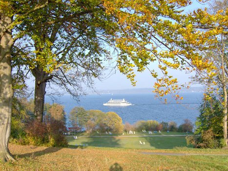 Blick auf den Starnberger See