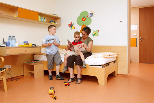 Eltern-Kind-Zimmer