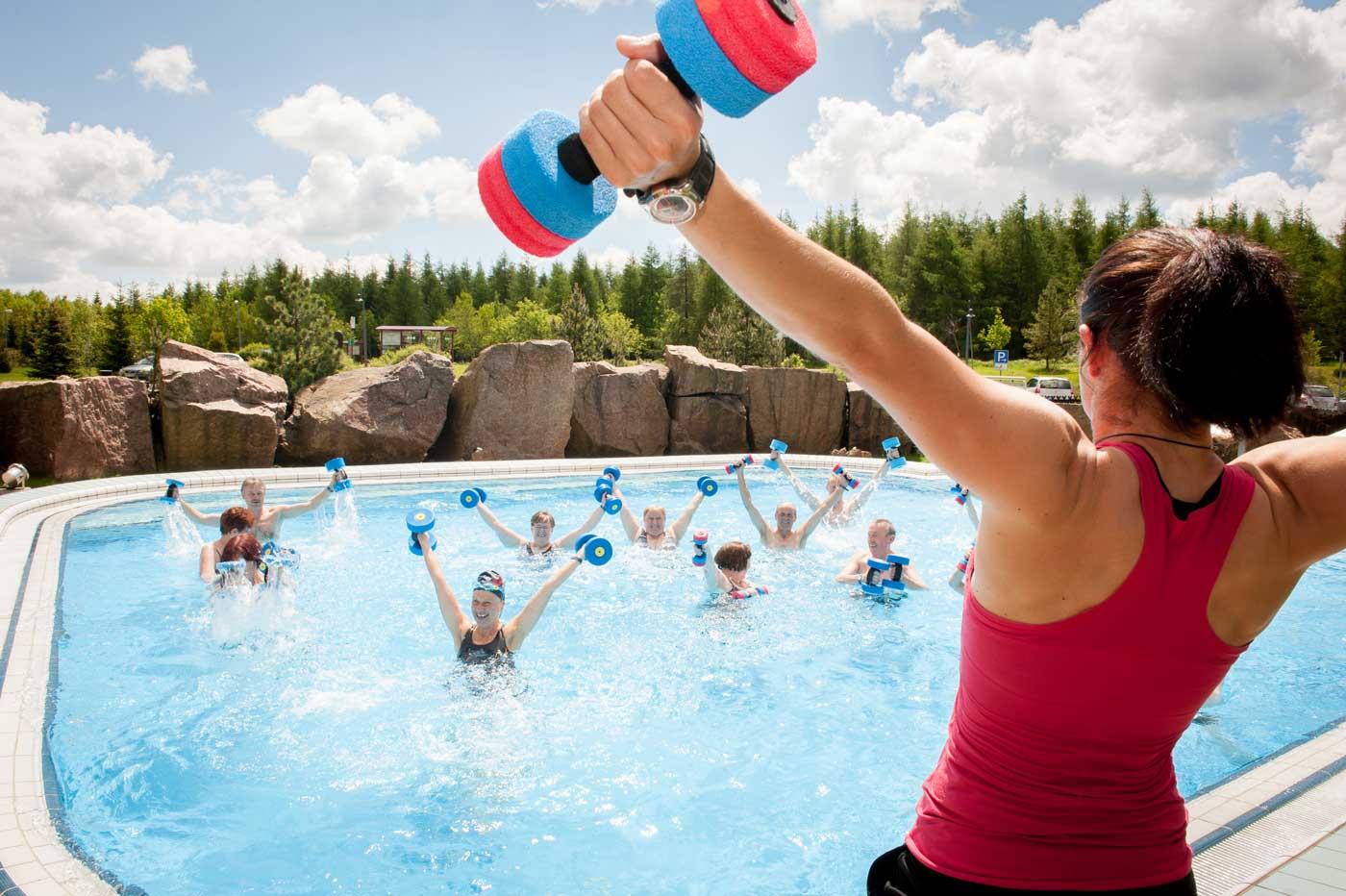 Wassertherapie Aussenbecken