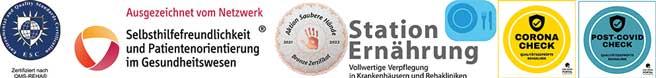 Zertifizierung Rehabilitationsklinik Heidelberg-Königstuhl