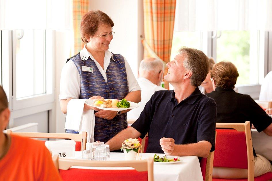 Bedienung im Restaurant