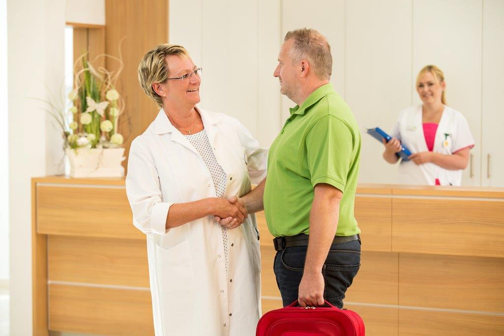 Arzt-Patienten Gespräch