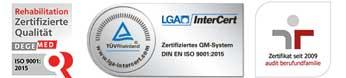 Zertifizierung Niederrhein-Klinik