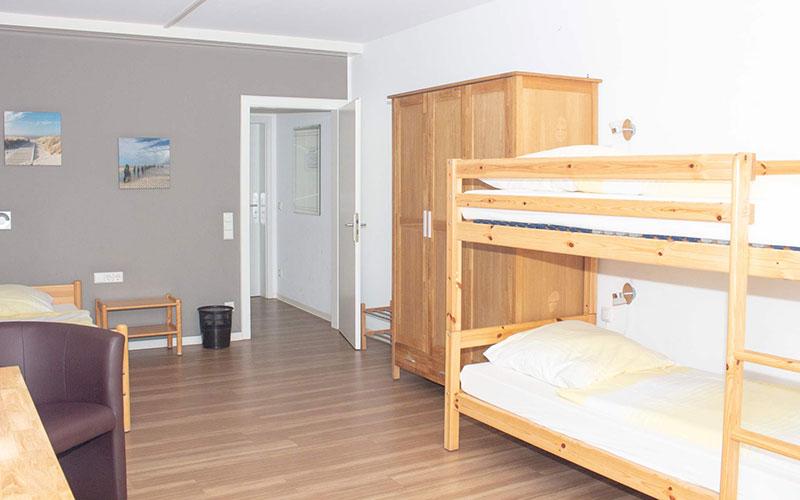 Weiterer Blick ins Patientenzimmer