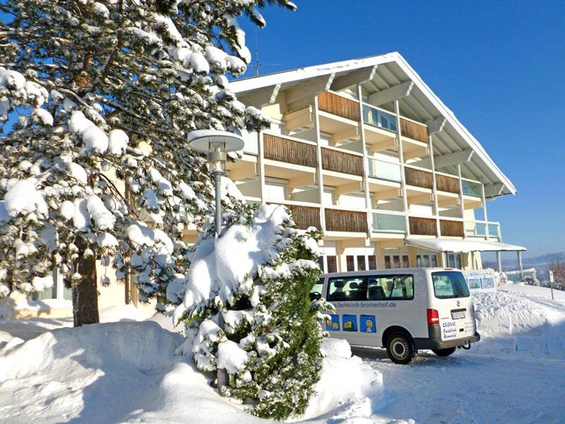 Winter in der Celenus Fachklinik Bromerhof