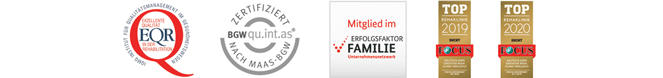Zertifizierung Fachklinik Eußerthal