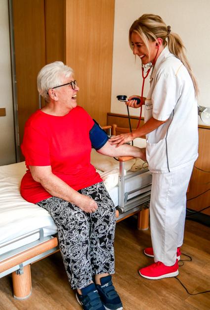 In der Pflege