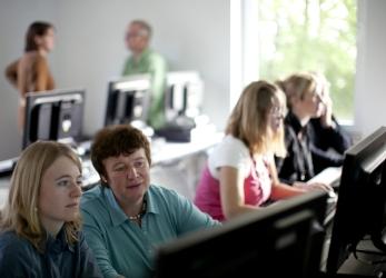 PC und Schulungsraum
