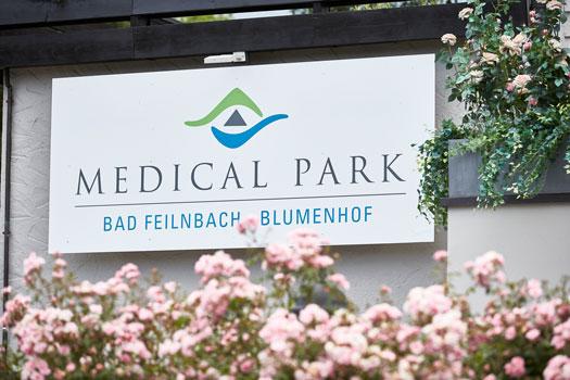 Schild Medical Park Blumenhof