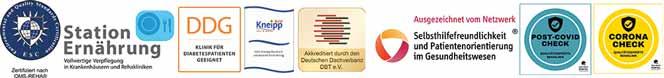 Zertifizierung Rehaklinik Glotterbad