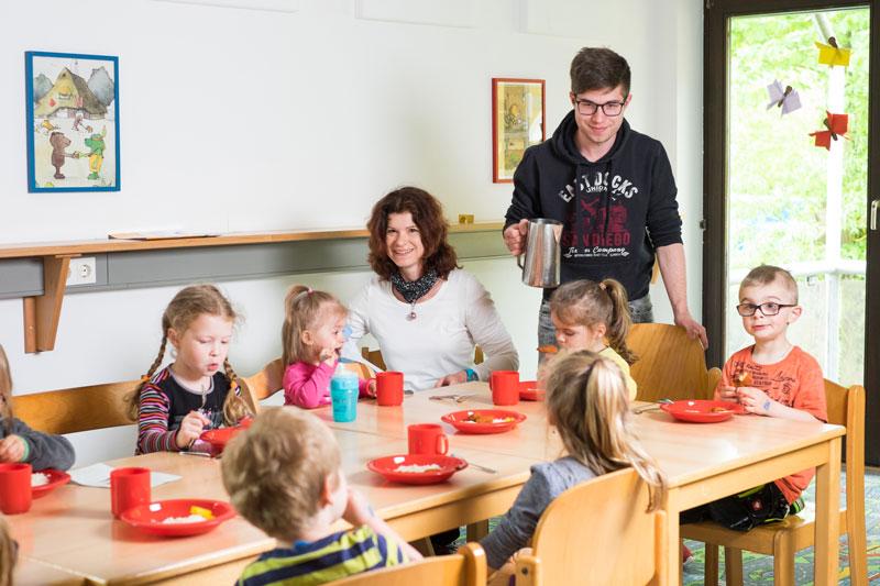 Essen für die Kinder
