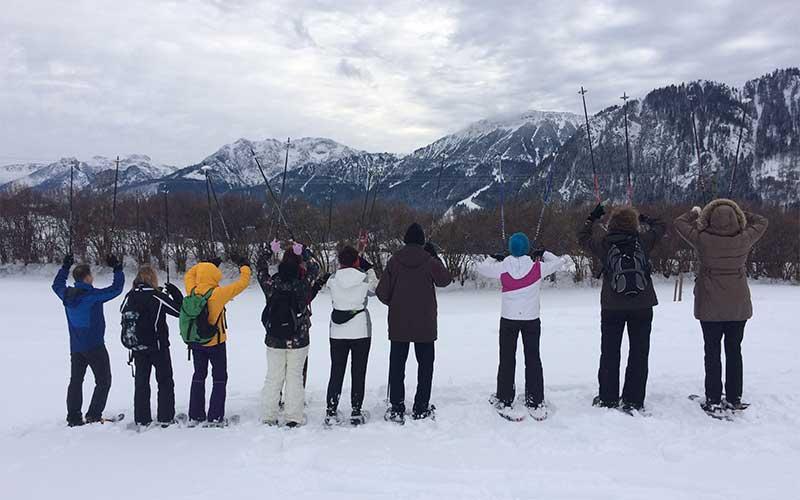 Sporttherapie Schneeschuhwandern