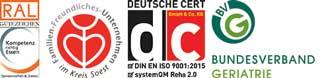 Zertifizierung Klinik Quellenhof GmbH