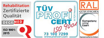 Zertifizierung Chiemgau-Klinik