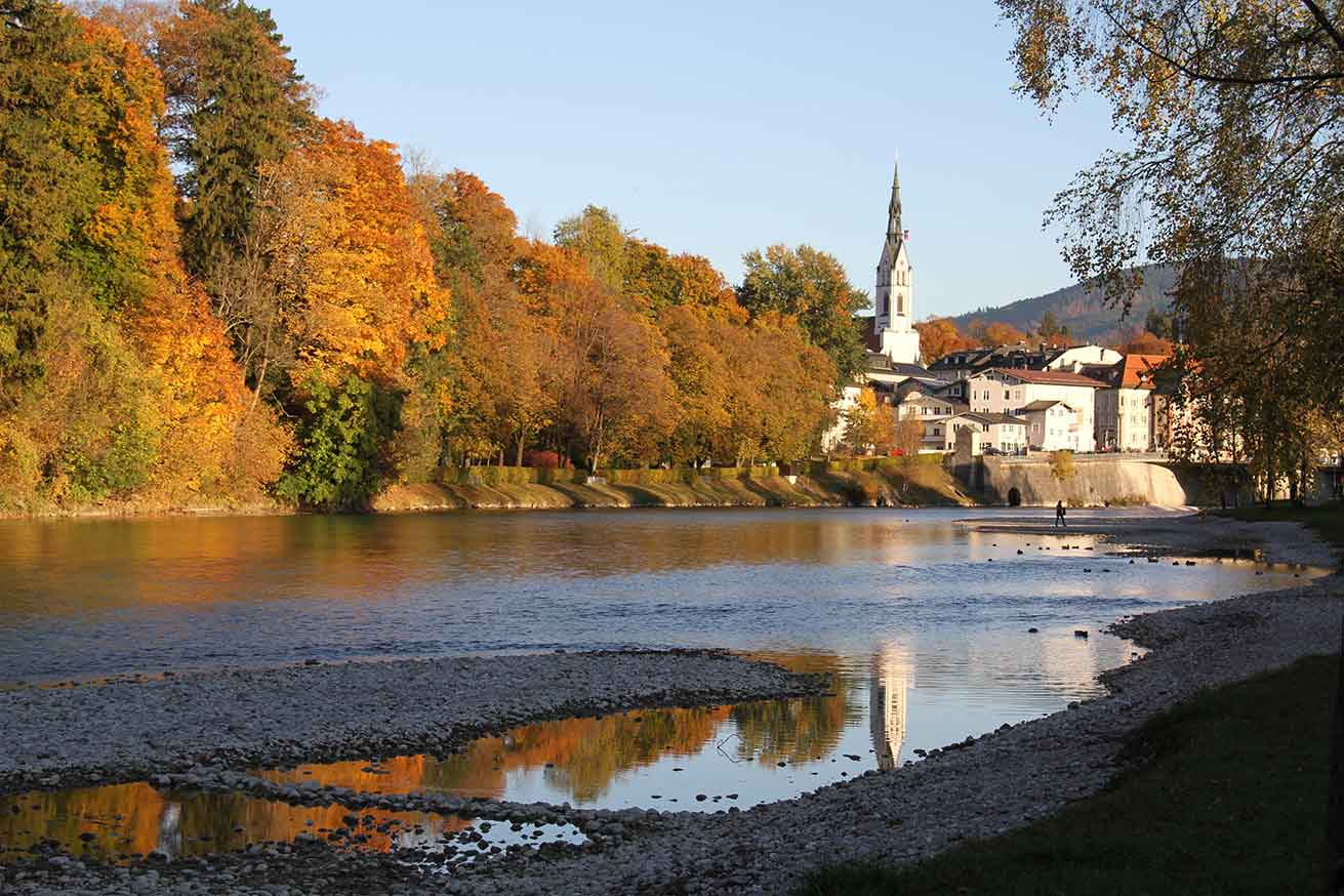 Herbst in Bad Tölz