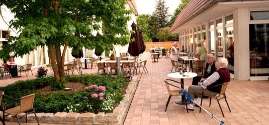 Cafe draußen