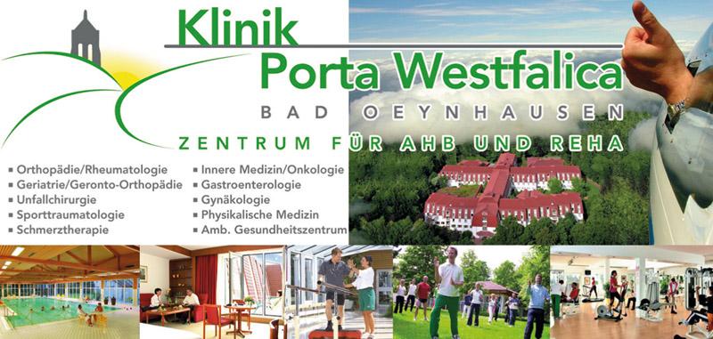 Klinik Porta Westfalica Zentrum für AHB und REHA