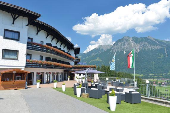 Ansicht Kurklinik Allgäuer Bergbad