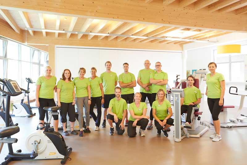 Team der Physiotherapie