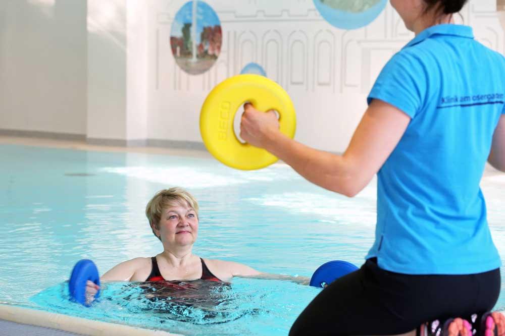 Bewegung in Wasser