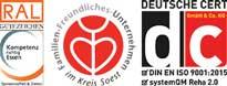 Zertifizierung Klinik am Hellweg GmbH