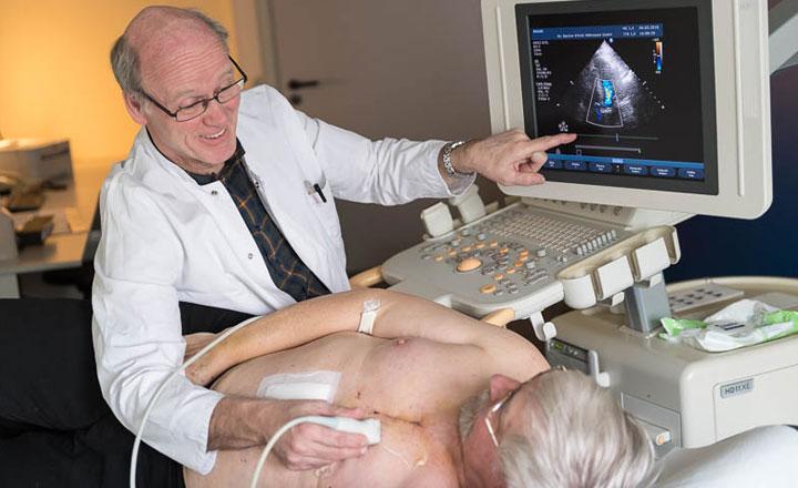 Untersuchung mit dem Ultraschall