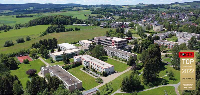 Reha-Zentrum Bad Steben, Klinik Auental