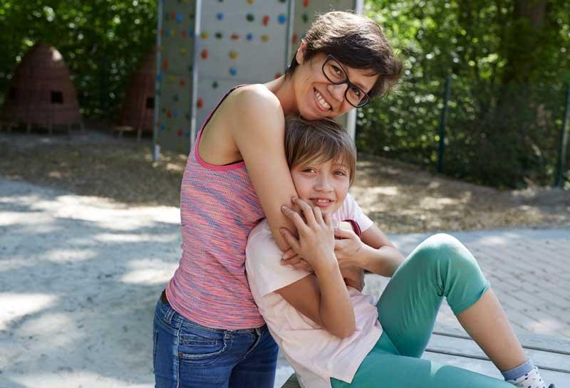 Auszeit für Mutter und Kind