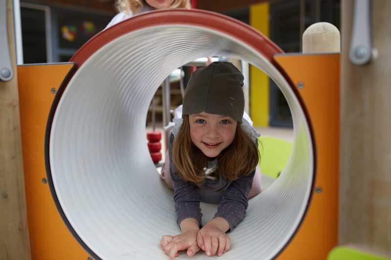 Spaß auf dem Spielplatz