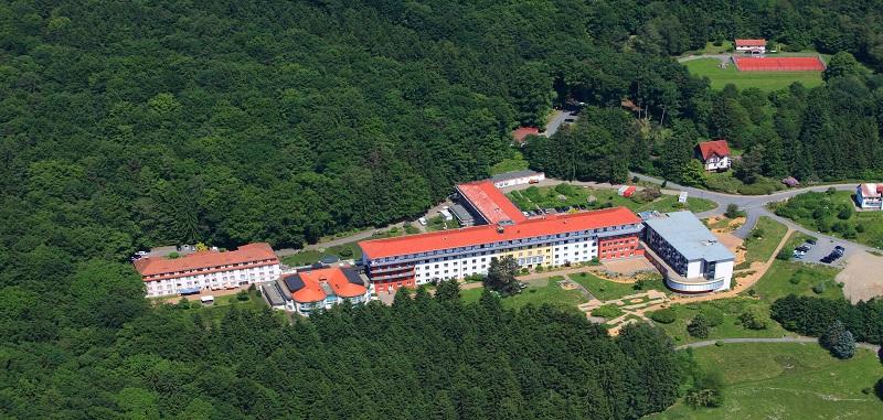 Klinik von oben