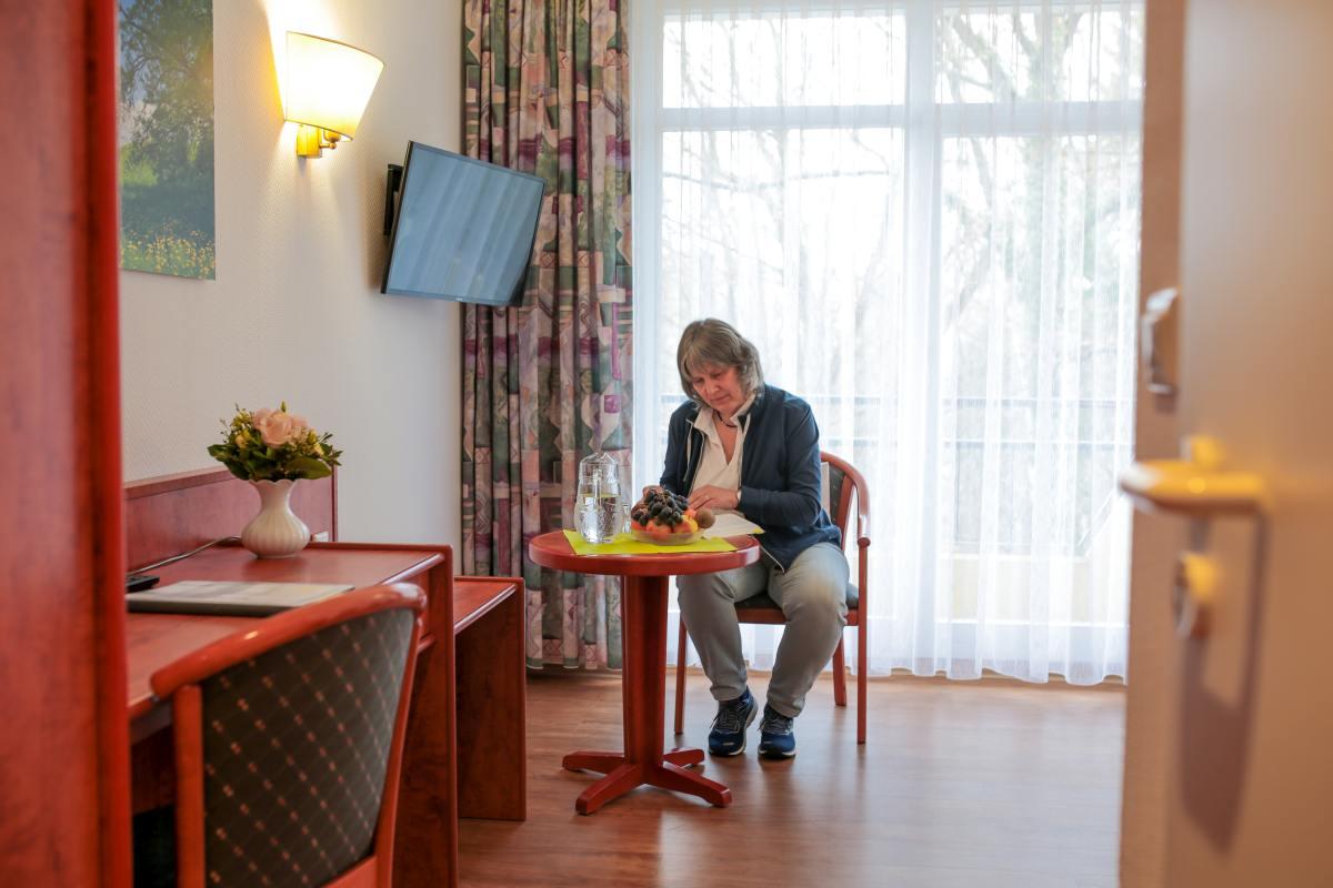 Blick ins Patientenzimmer