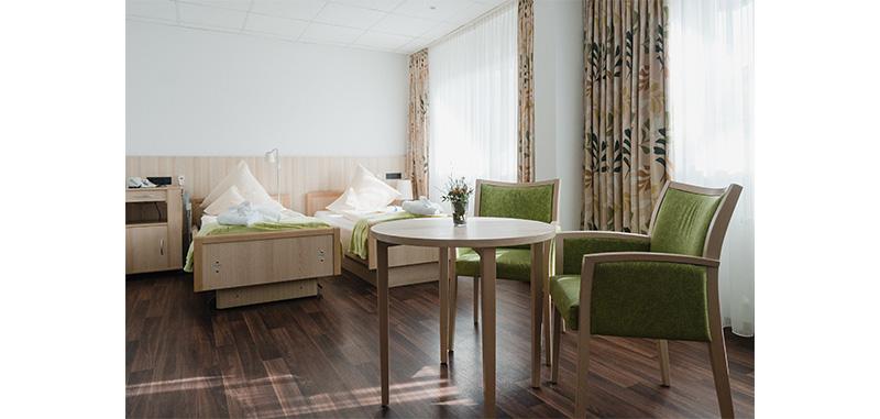 Patientenzimmer Doppeltzimmer