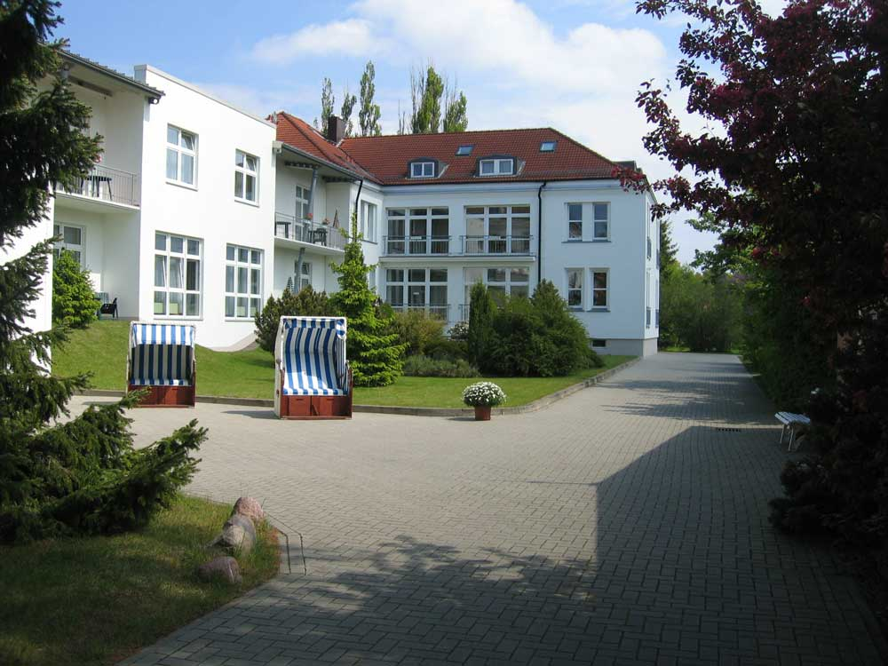 Klinikgebäude hintere Ansicht