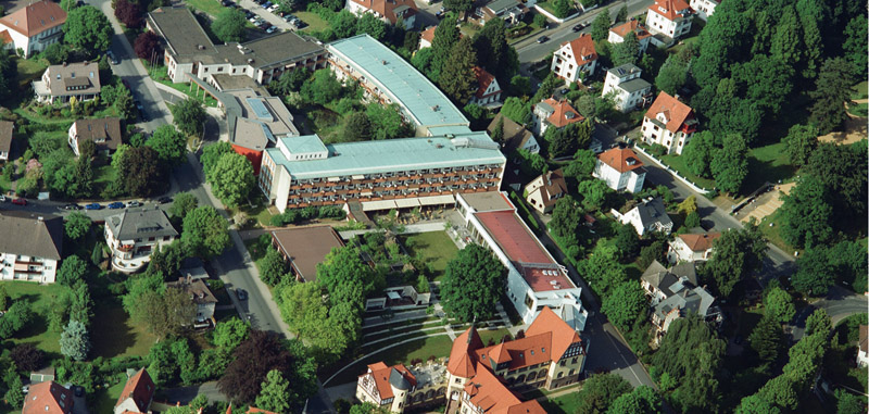 Reha-Zentrum Bad Pyrmont, Therapiezentrum Friedrichshöhe