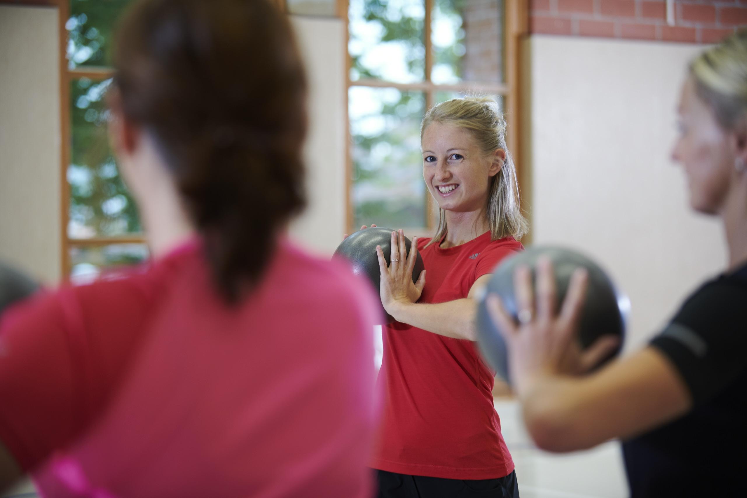 Training mit dem Ball