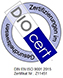 Zertifizierung DioCert