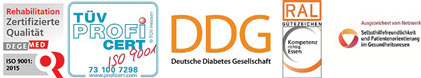 ZertifizierungKnappschafts-Klinik Bad Driburg