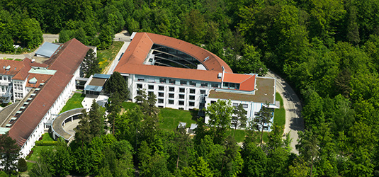Luftaufnahme Kliniken Schmieder Gerlingen