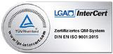 Zertifizierung LGA Asklepios Neurologische Klinik Falkenstein