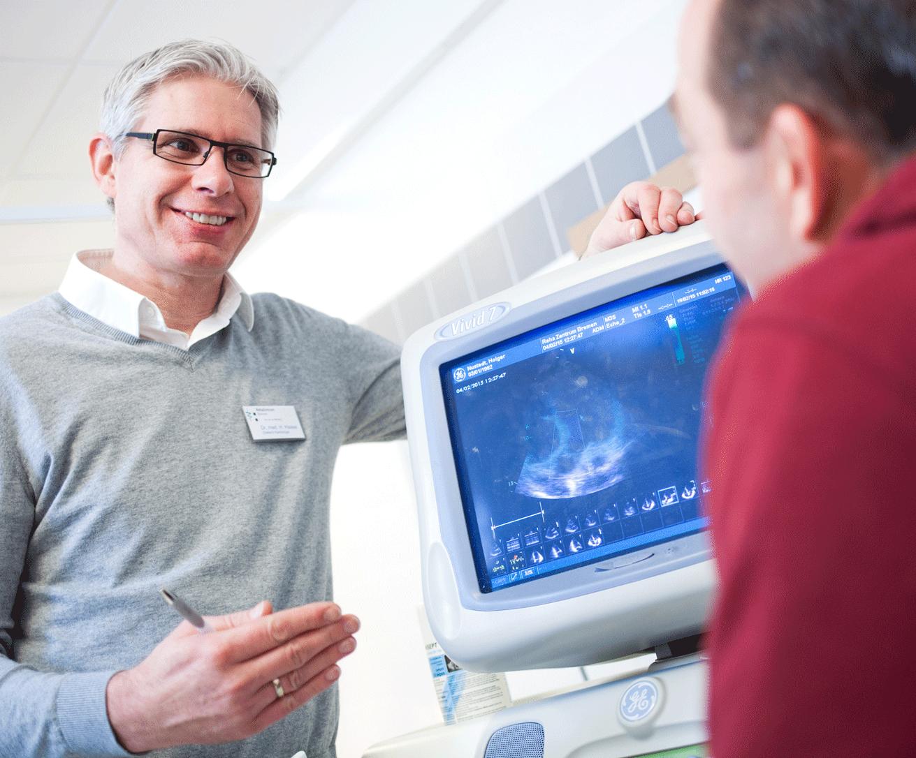Beim Ultraschall